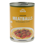Vegan Meatballs in Bolognese Sauce - Suma - vegan-perfection-retail