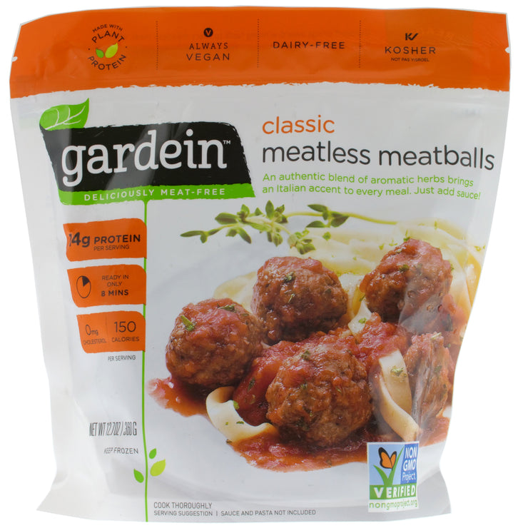 Classic Meatballs - Gardein - vegan-perfection-retail