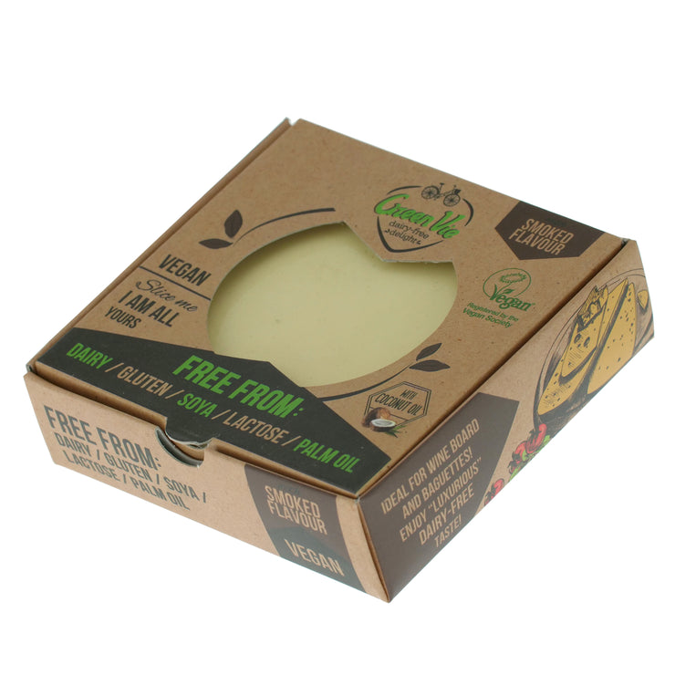 Smoked Gouda Block REGULAR - Green Vie - vegan-perfection-retail