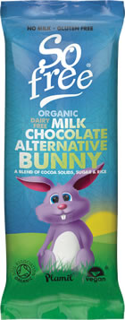 Organic Ricemilk Choc Easter Bunny,So Free,vegan-perfection-retail