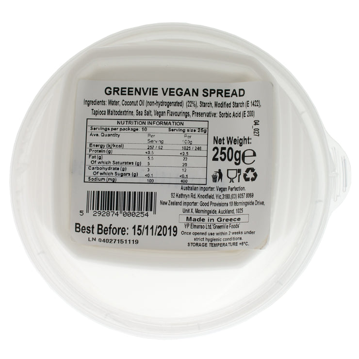 Original Spread REGULAR - Green Vie - vegan-perfection-retail