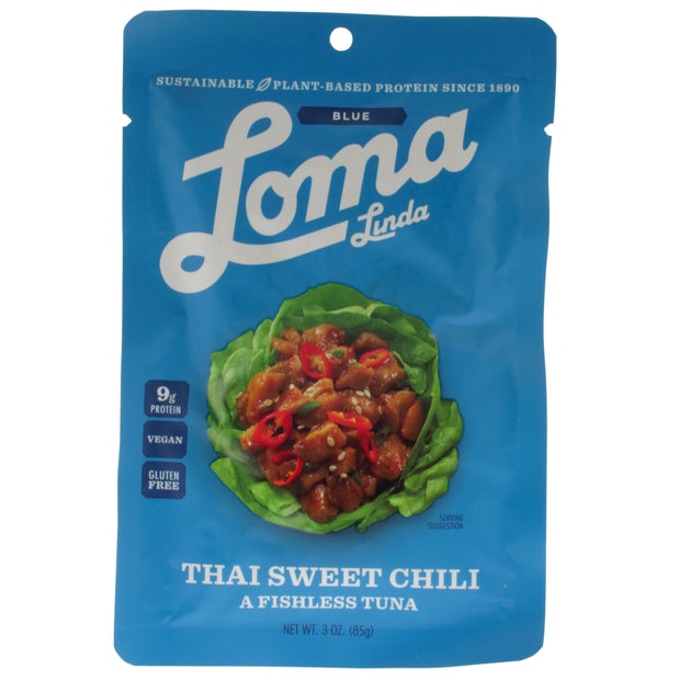 Thai Sweet Chilli Vegan Tuna Pouch - Loma Linda - vegan-perfection-retail