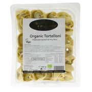 Organic Tortelloni with Spinach and Pine Nut