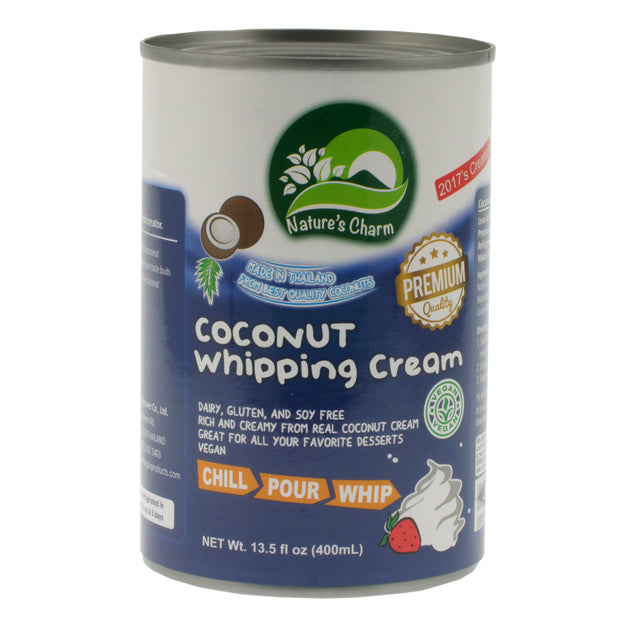 Coconut Whipping Cream - Nature's Charm - vegan-perfection-retail