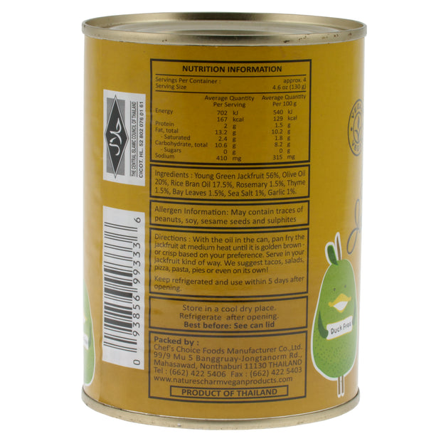 Large Can Jackfruit Confit - Nature's Charm - vegan-perfection-retail