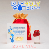 Pure Holy Water • Authentic Wax Sealed 25mL Cork Vial