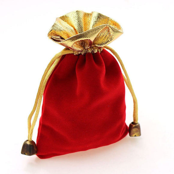 Royal Red Velvet Bag. buy in conjunction with your other purchase
