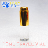 Holy Water Travel Dropper • 10mL Vial