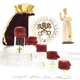 Holy Water Hanging Cross 10ml Vial