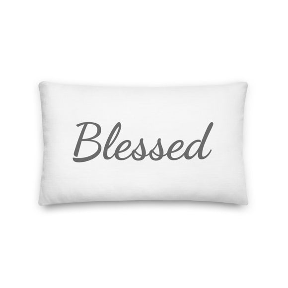 This Home is Blessed: Premium Pillow