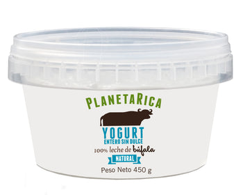 Yogurt Griego natural sin dulce