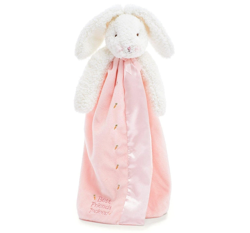 Manta/ peluche blossom de conejito rosa -Bunnies by the bay