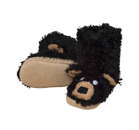 Slippers Black Bear