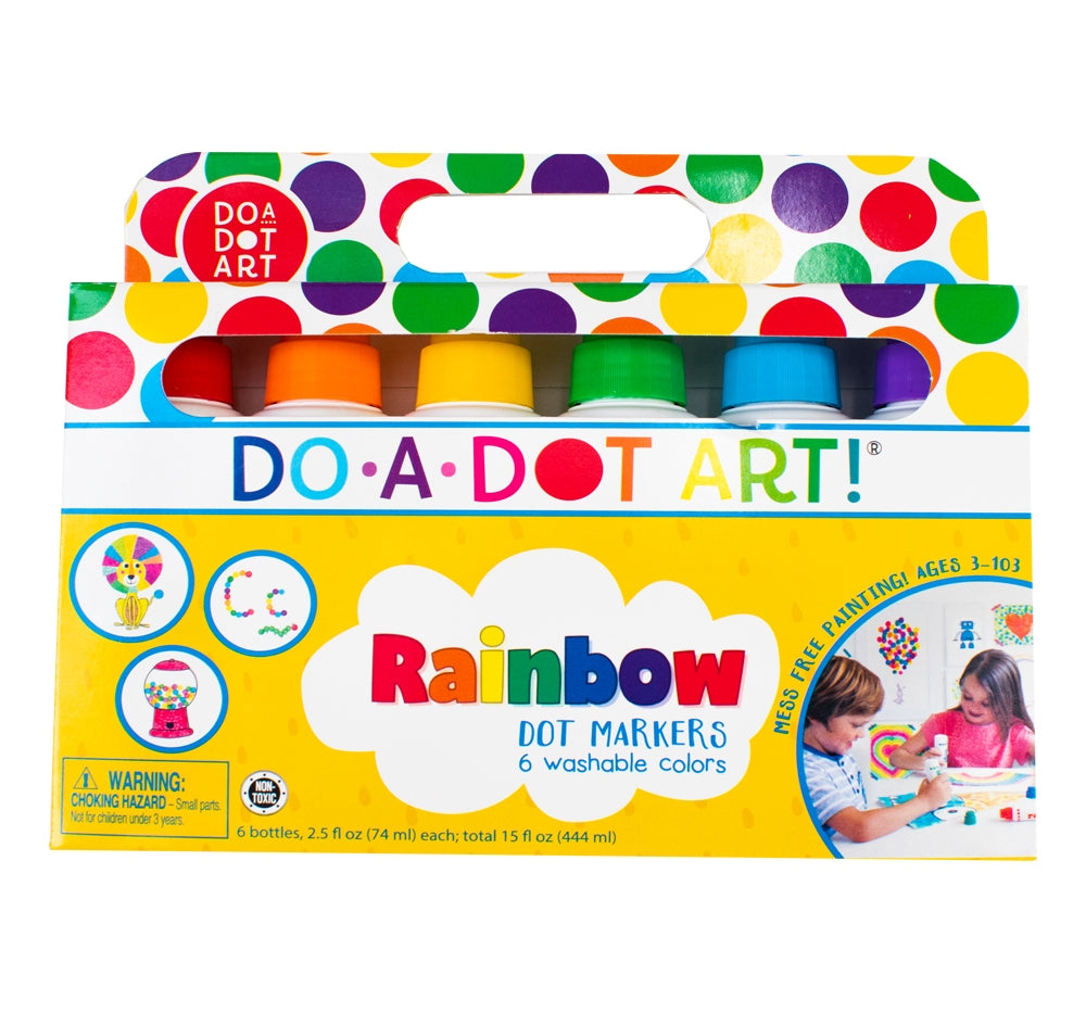 Set de Seis Marcadores Rainbow - DO A DOT ART