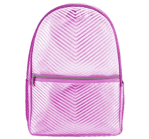 Mochila Chevron Rosa - Iscream