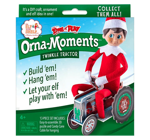 Tractor de Elfo - The Elf On The Shelf