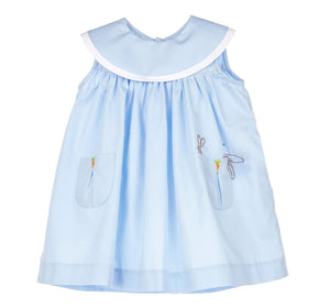 Lazy Bunny Dress Blue