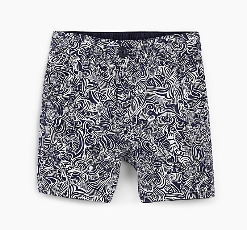 Shorts reversibles navy -IKKS