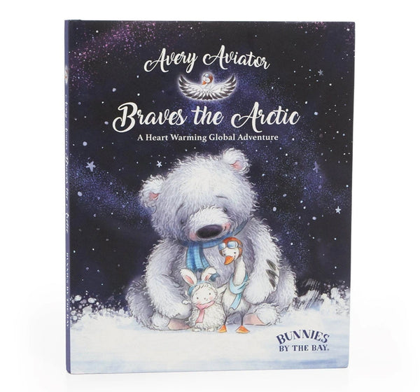 Libro Avery the aviator braves the artic -Bunnies by the bay