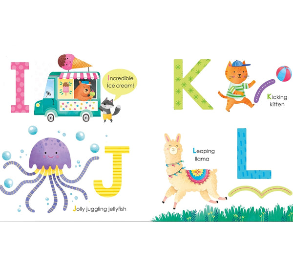 Libro Fingertrail ABC Big Letters -Usborne Books