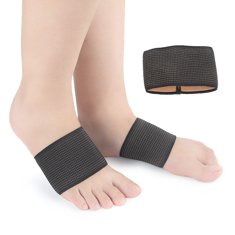1Pair Arch Copper Compression Support Brace