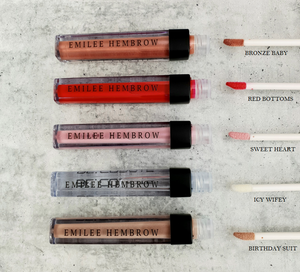 Emilee Hembrow   Complete  Lipgloss Collection