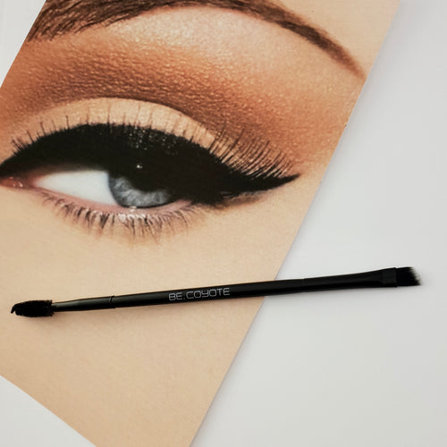 Angled Eye Liner and Brow Brush