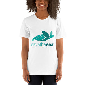 Save the Sea Turtles T-Shirt | Plastic Free