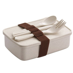 Save the Sea Bamboo Fiber Microwaveable Bento Box Lunch Box