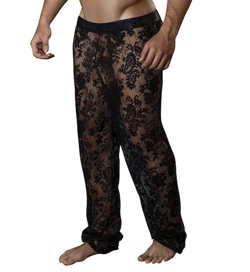 CandyMan Lace Lounge Pants