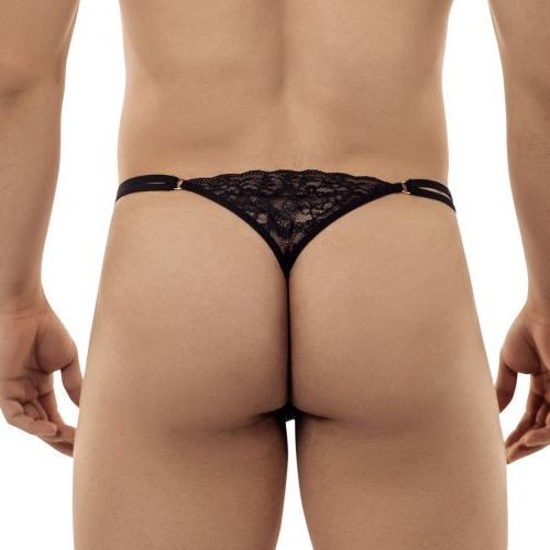 CandyMan Double Strap Lace G-String/Thong