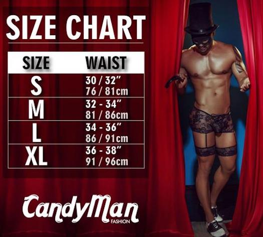 CandyMan Sheer Briefs