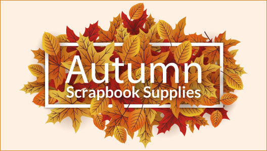 Autumn Scrapbook Supplies