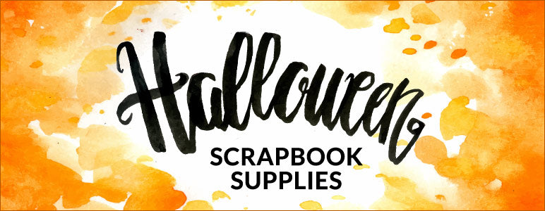 Halloween Scrapbook Supplies