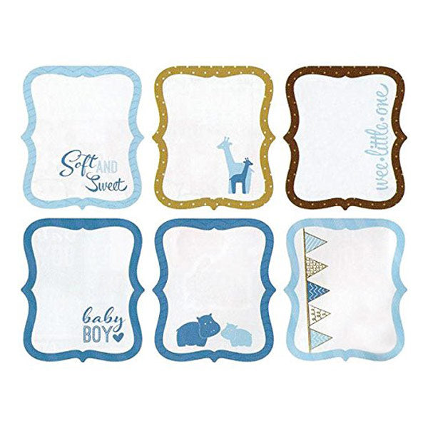 My Baby Boy Die-Cut Tag Pad AC-400520