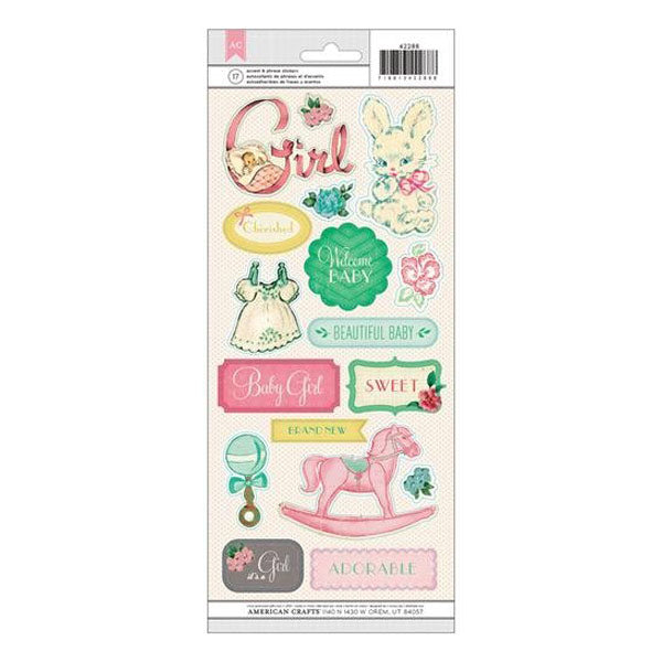 Baby Girl Clear Accent and Phrases AC-42288