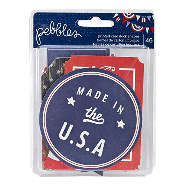 Americana Printed Cardstock Shapes AC-732506
