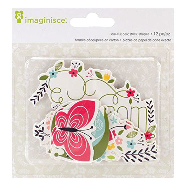 Welcome Spring Blossom Die-Cut Cardstock Shapes AC-400585