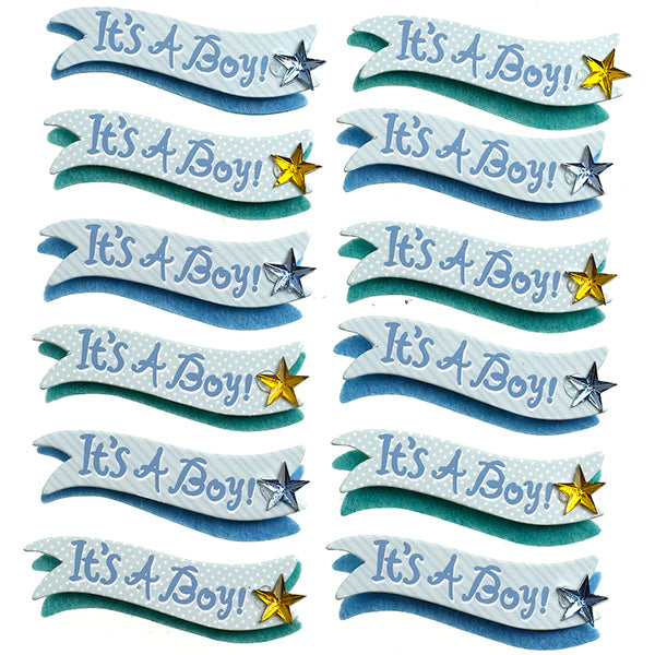 It's a Boy Banner Repeats 50-21677