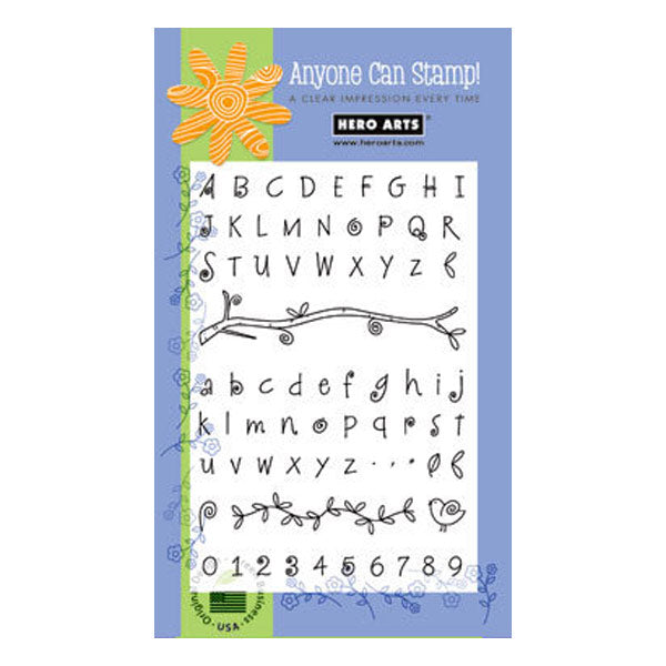 Fanciful Swirl Alphabet PC-CL141