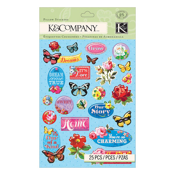 Bloomscape Pillow Stickers KCO-30-662964