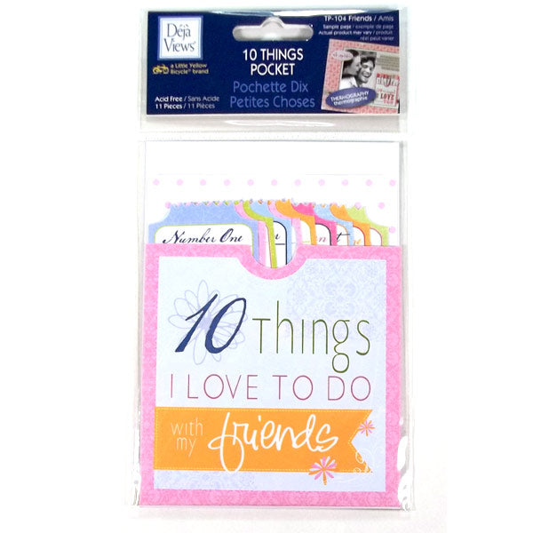 Friends 10 Things Pocket DV-TP-104