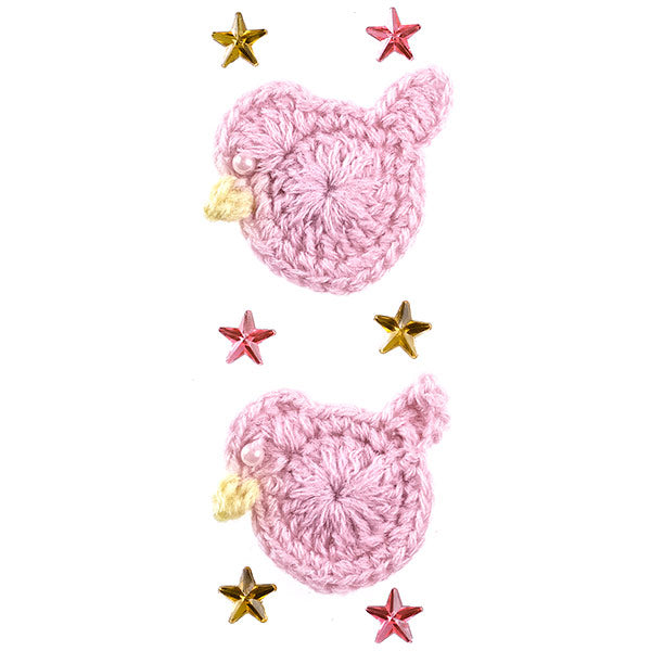 Baby Girl Crochet Ducks 50-40347