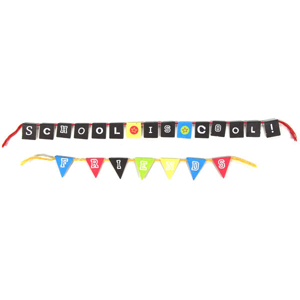 School Mini Banners DV-BA2-107