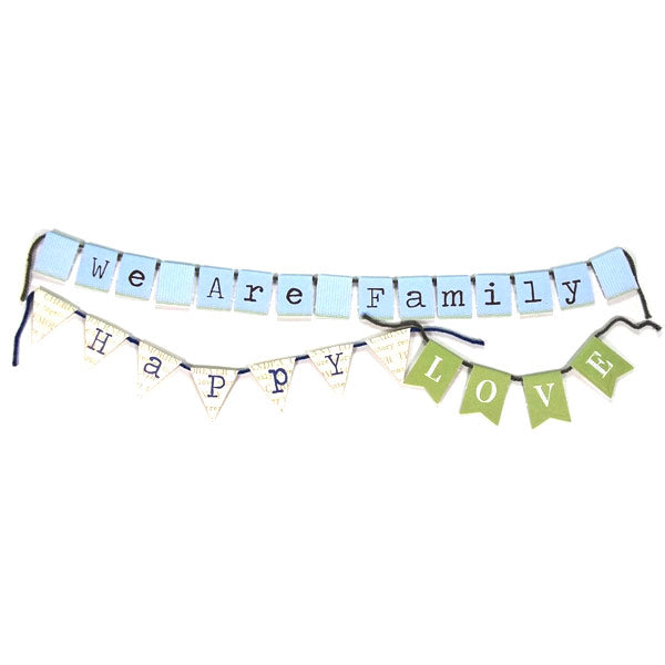 Family Mini Banners DV-BA-102