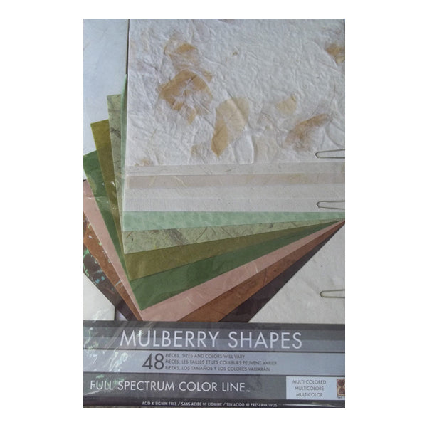 Natural Mulberry Shapes PAK03037
