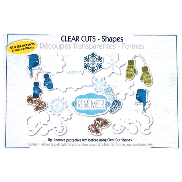 Winter Clear Cuts Shapes LYB-TG-230