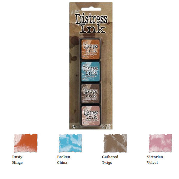 Mini Distress Ink Pad Kit 6 TH-TDPK40361