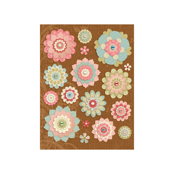Bailey Paper Flowers Grand Adhesions KCO-545175