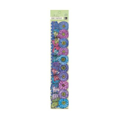 Cottage Garden Cool Mix Adhesive Borders KCO-30-598652